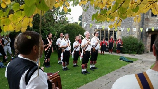 Dancers at Hartington YHA