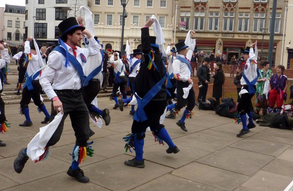 Great Western Morris at Exeter Cathedral