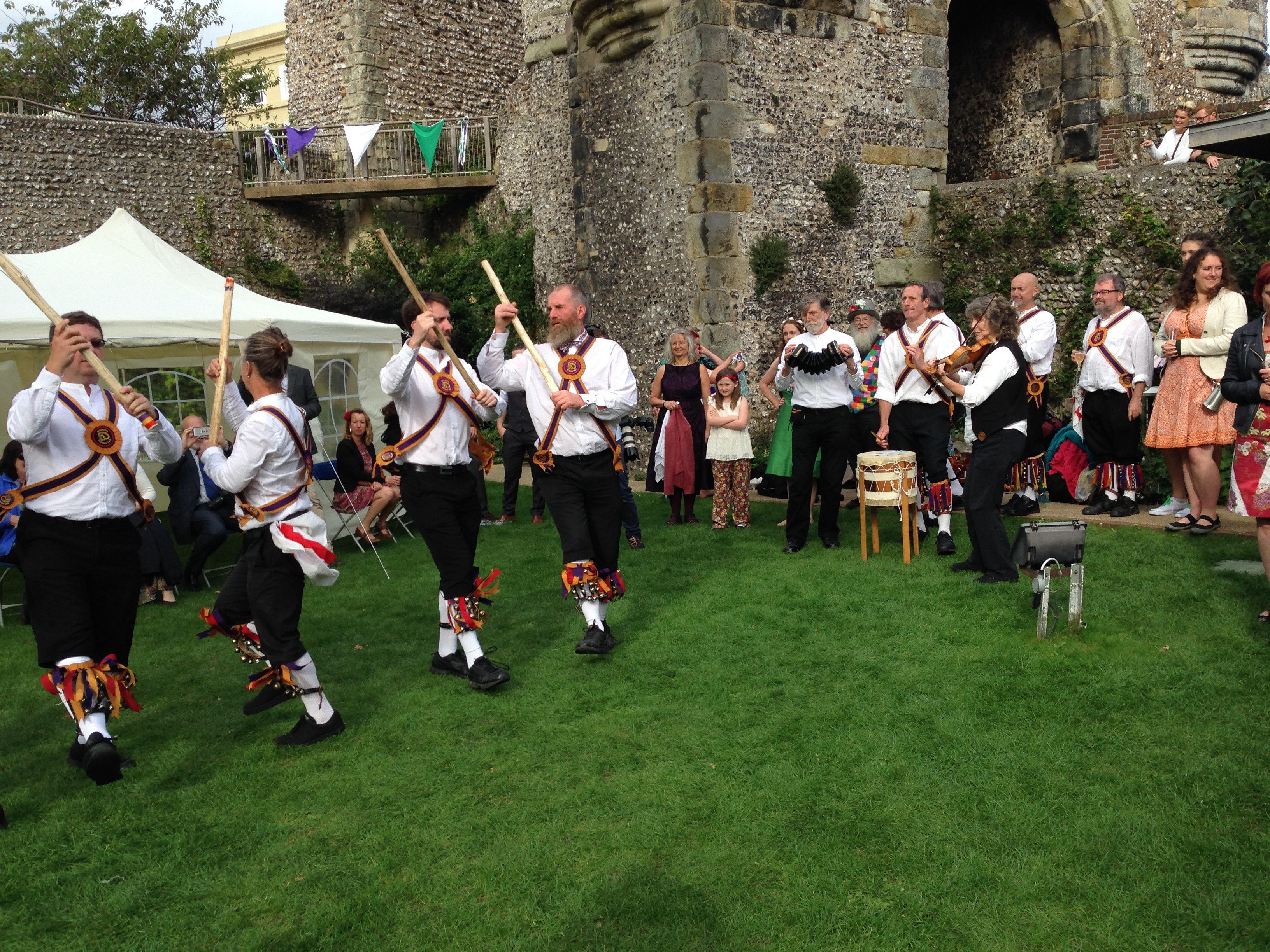 Dancing at Lewes Castle