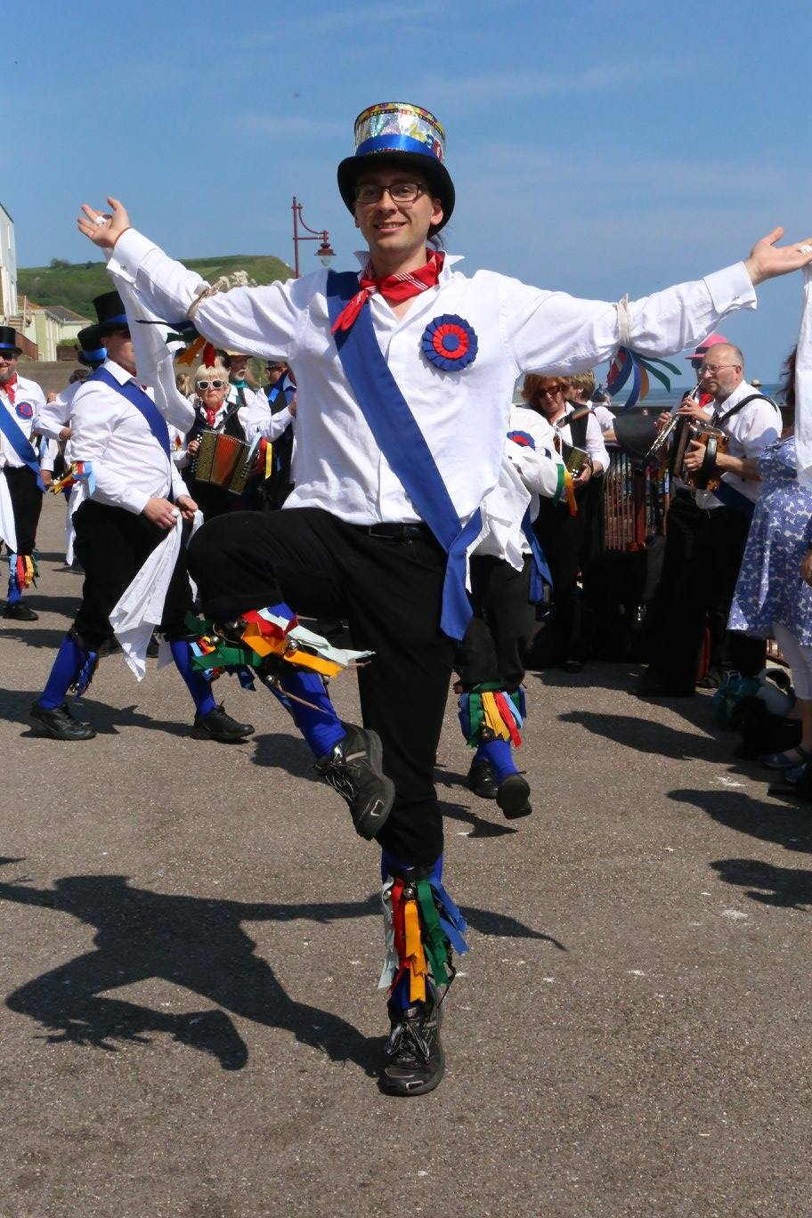 Great Western solo dancer, Seaton seafront