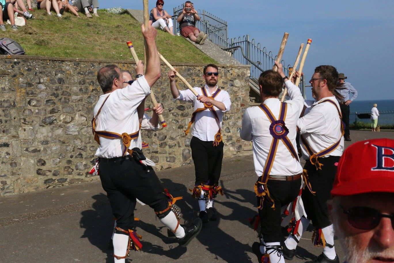 Brighton Morris Men at Beer