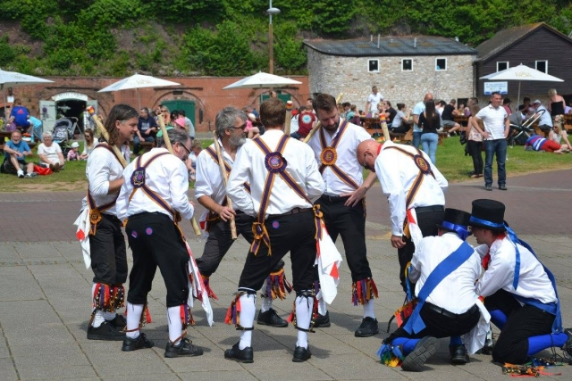 Replacing a morris dancer's bellpads