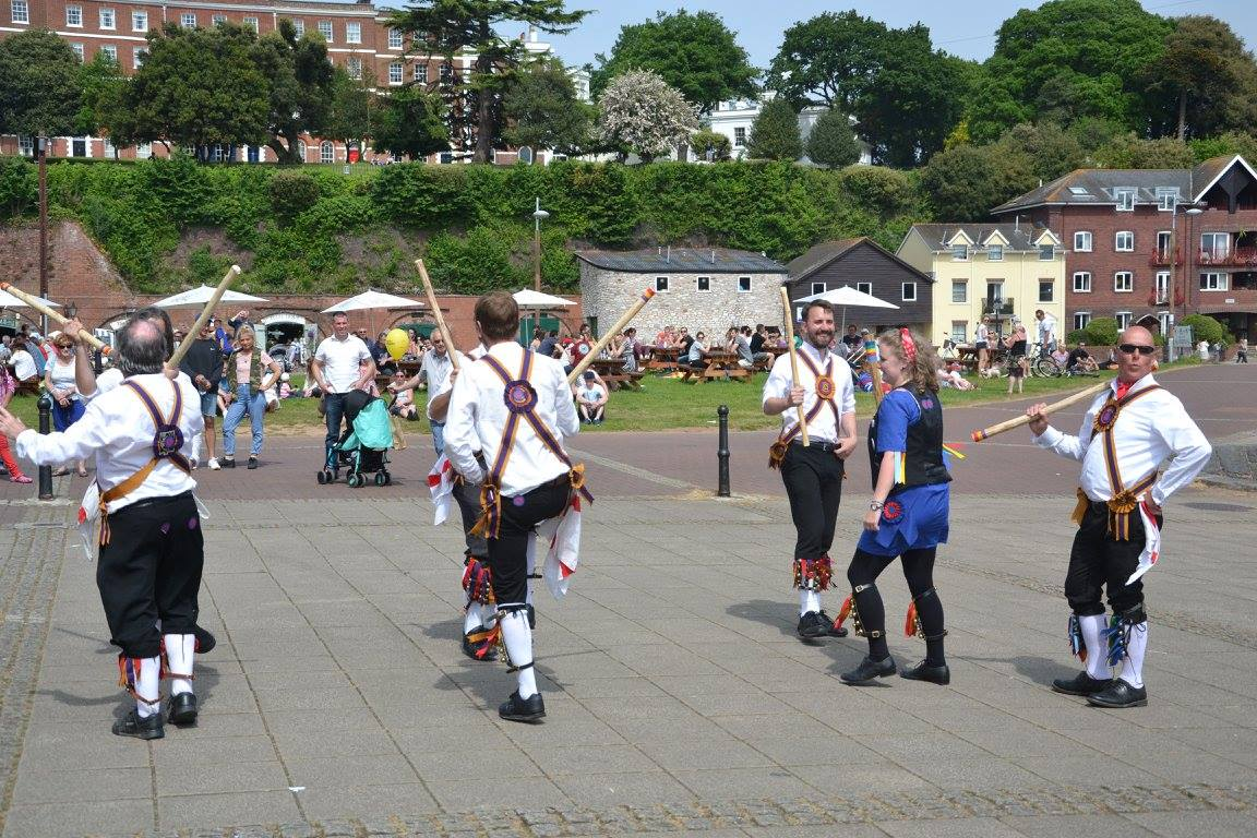 Replacement dancer joins Brighton Morris Men