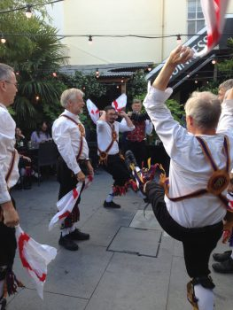 Morris men with hankies