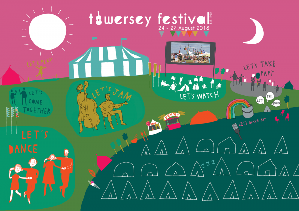 Towersey Festival website Home Page