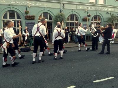 Brighton Morris Men at George Payne