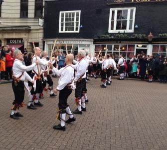 Upton on Severn: the quiet bit